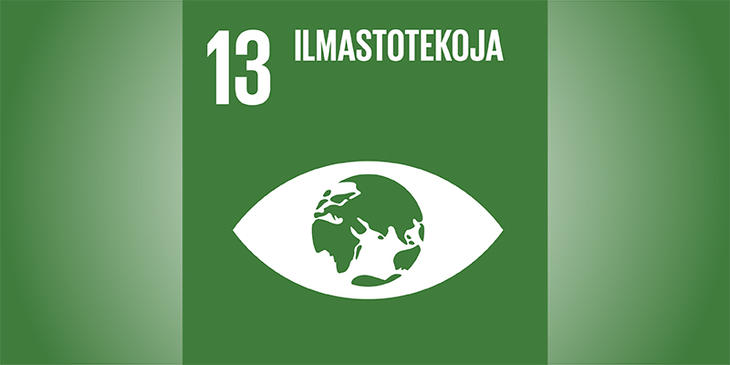 Sustainable goal no. 13